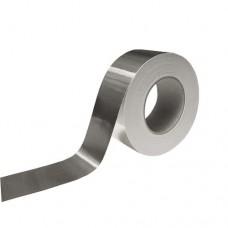 Лента алюминиевая клейкая - скотч фольгированый